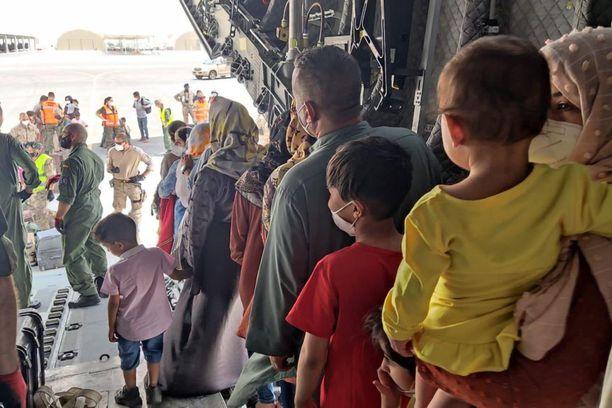 Länsiliittouman evakuointilentojen on määrä päättyä elokuun lopussa.