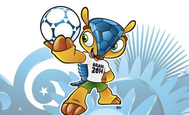 Fuleco on vuoden 2014 MM-kisamaskotti.