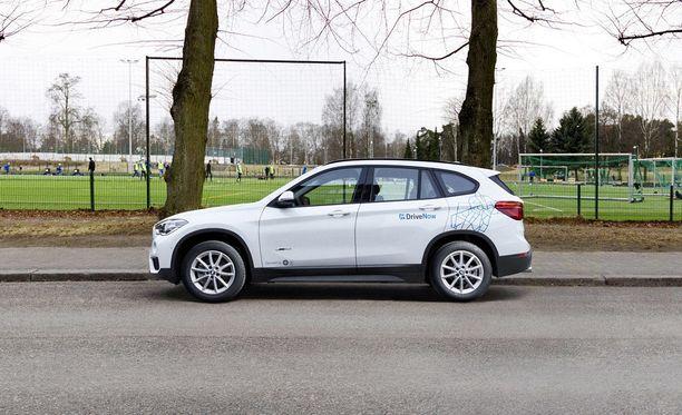 DriveNow-yhteiskäyttöauton saa alennettuun hintaan, mikäli auto on jäänyt vähälle käytölle tai syrjäiseen sijaintiin.