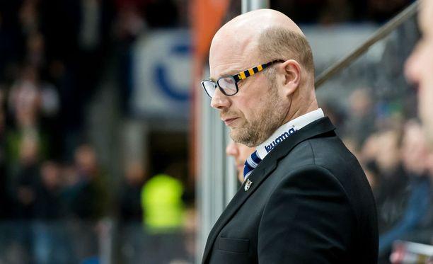 Risto Dufvan voileipä jäi tällä kertaa levitepuoli ylöspäin.