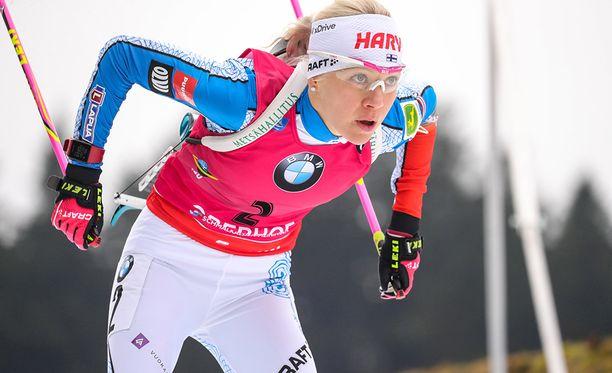 Kaisa Mäkäräinen nähdään olympialaisissa myös viestikisassa.