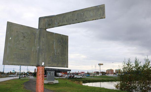 Suomen ja Ruotsin valtakunnanrajalla Torniossa oli hiljaista viime yönä.