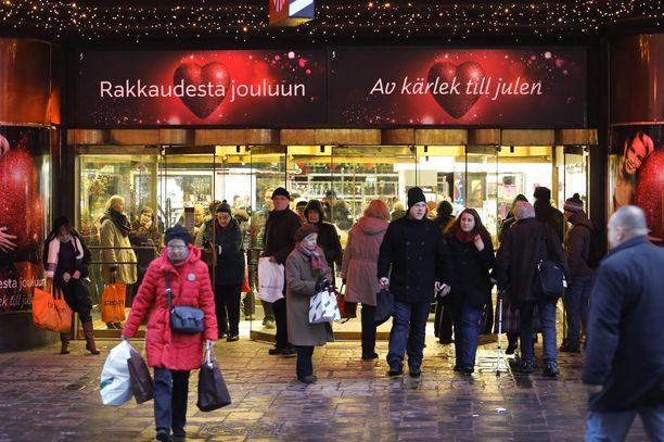 Tänäkin vuonna ruuhkaisin joulukaupan päivä koittaa jouluaatonaattona eli 23. joulukuuta.
