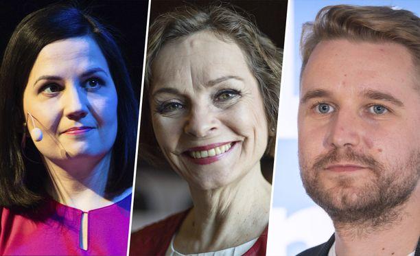 Sanni Grahn-Laasonen, Marja Aarnipuro ja Joonas Nordman ovat tunnettuja entisiä iltalehteläisiä.