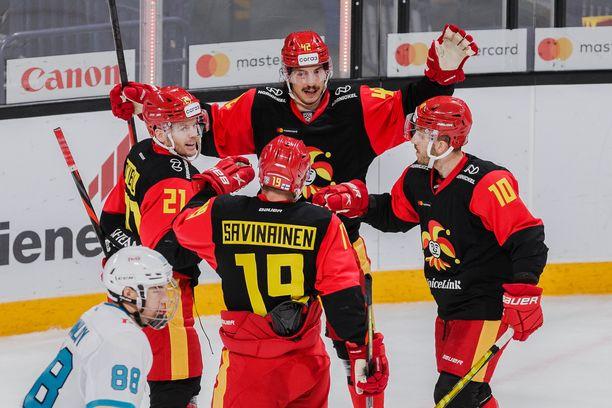 Jokerit on ollut KHL:ssä pysäyttämätön.