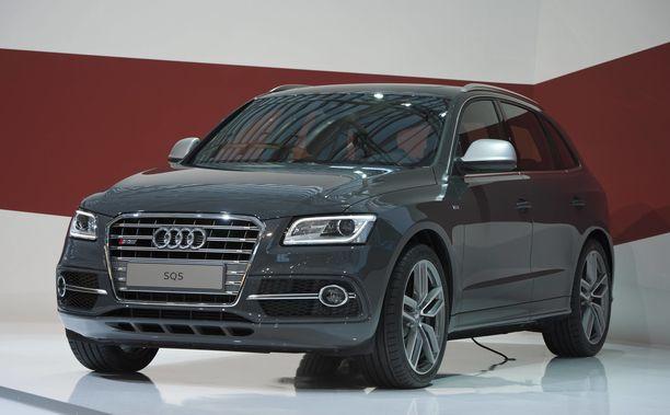 Mattias Ekholm on kiintynyt Audi SQ5 -katumaasturiinsa, jonka hän osti neljä vuotta sitten. Kuvan auto on vuoden 2013 malli.