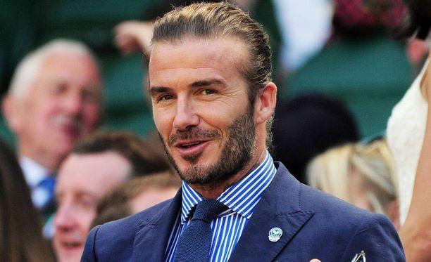 Beckhamilla riittää töitä linnan kanssa.