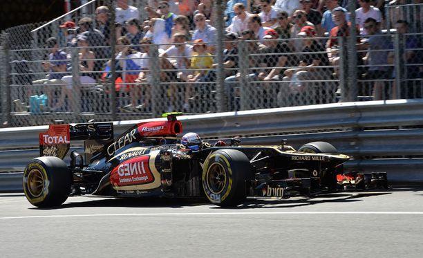 Romain Grosjean tyri Monacossa.