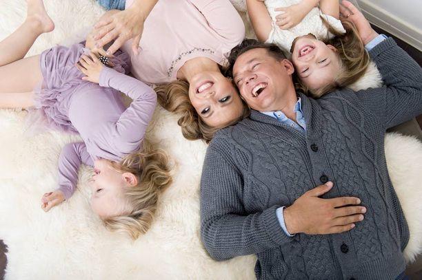 Marita ja Tomi tapasivat Tangomarkkinoilla 2007. Perheen perustaminen oli Tomin toive.