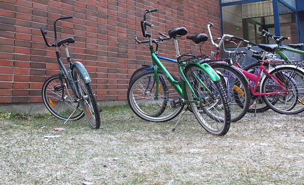 Varastettu polkupyörä halutaan usein nopeasti kaupaksi. Kuvituskuva.