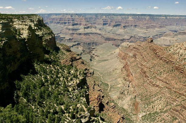 Amerikkalaiset kreationistit uskovat, että muun muassa syvimmillään 1,8 kilometriä syvä Grand Canyon syntyi kerralla Jumalan lähettämän verenpaisumuksen syövereissä 4 400 vuotta sitten. Puheet miljoonien vuosien hitaasta kehityksestä ovat heille osa evoluution kannattajien salajuonta.