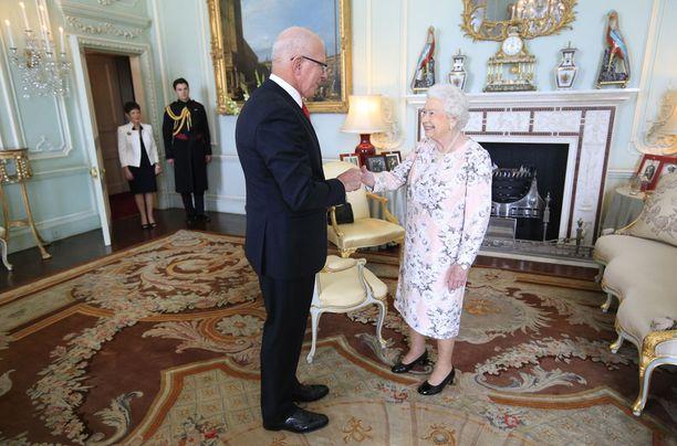 Buckinghamin palatsissa riittää siivottavaa.