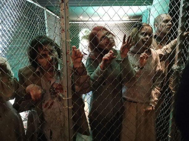Next Gamesin tunnetuin peli on The Walking Dead: No Man's Land, joten teemaan liittyvästi listautumisinfossa paikalla oli tietysti zombeja.