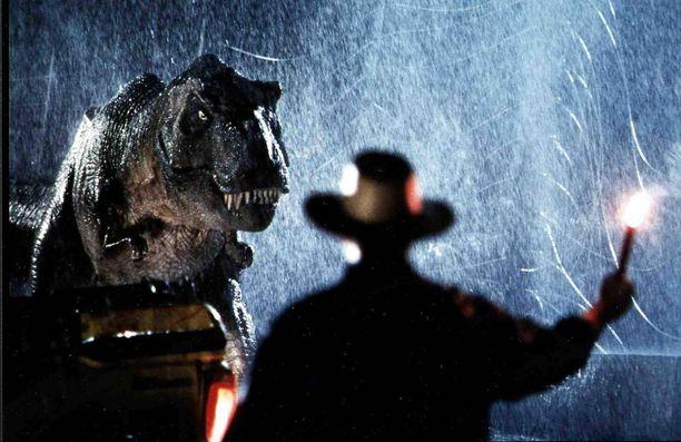 Sam Neillin näyttelemä tohtori Alan Grant piti dinosaurukset kurissa vuoden 1993 leffaklassikossa.
