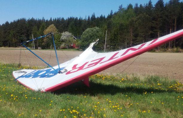 Onnettomuus tapahtui miehen ollessa nousemassa ilmaan riippuliitimellä (arkistokuva, kuva ei liity tapahtumiin).