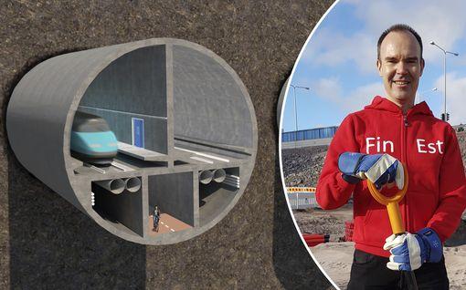 Peter Vesterbacka lupaa vastoinkäymisistä huolimatta: junalla pääsee Helsingistä Tallinnaan 24.12.2024