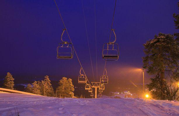 Pyhä on vuoden 2017 hiihtokeskus.