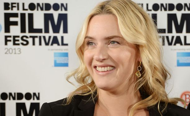 Tältä Winslet näytti Lontoon elokuvajuhlilla maanantaina 14. lokakuuta.
