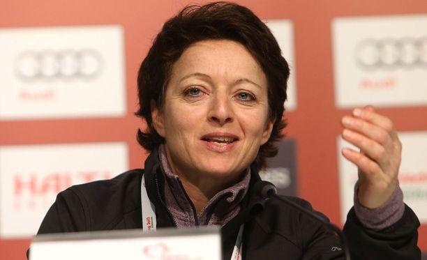 FIS:n pomo Sarah Lewis tykkää norjalaisista.
