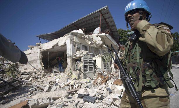 Rauhanturvaajat suojaavat avun jakamista.