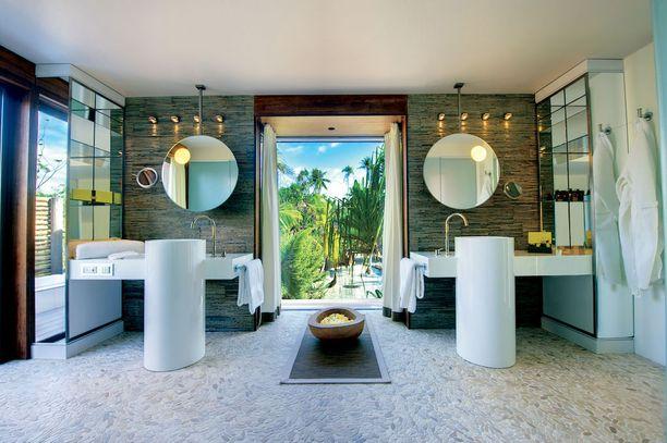 Yksi yö luksuskohteessa maksaa majoituksesta riippuen vähintään 2 000 euroa ja korkeintaan 12 300 euroa.