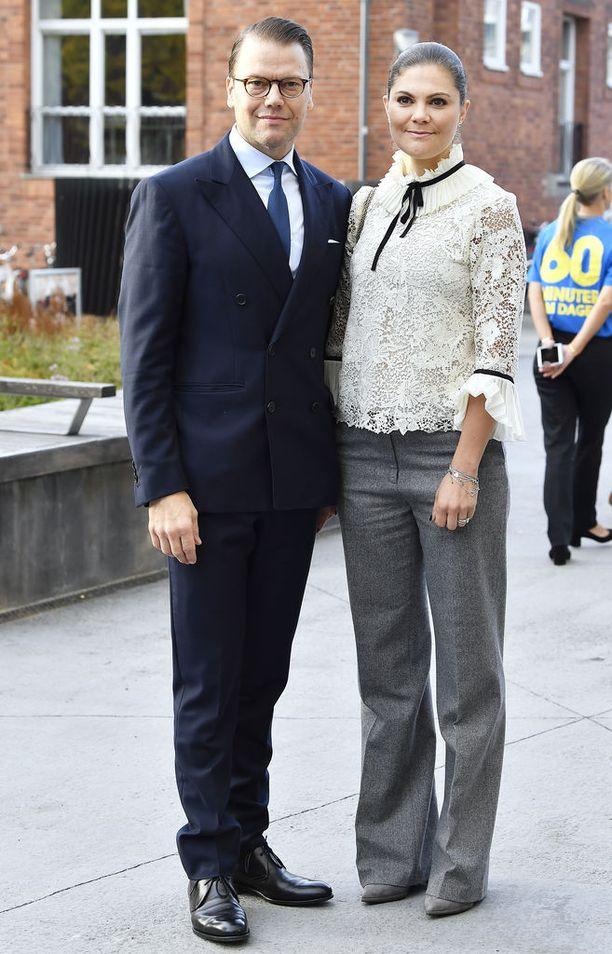 Prinssi Daniel ja kruununprinsessa Victoria osallistuivat taannoin prinsessan perustaman Generation Pep -järjestön