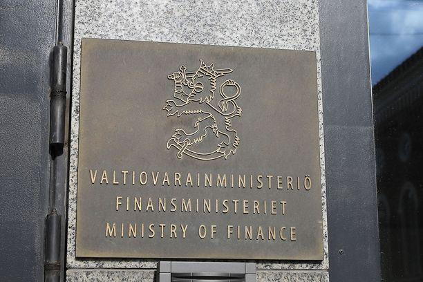 Valtiovarainministeriön työntekijällä on todettu koronavirustartunta.