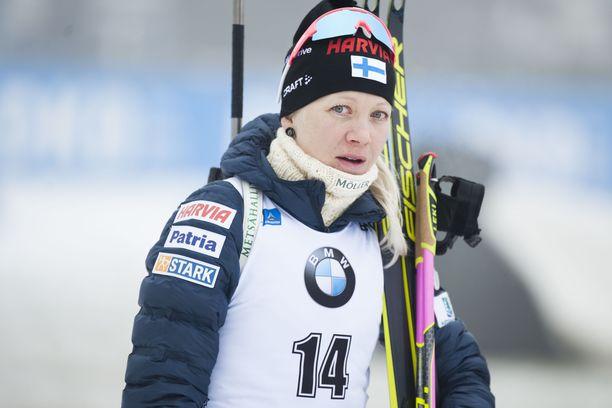 Kaisa Mäkäräinen on toipilas.