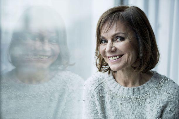 Lena Meriläinen näyttelee Syke-sarjassa Lenita Pakkalaa.