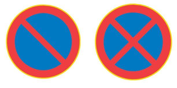 Pysäköinti- ja pysäyttämisen kiellosta seuraavaan risteykseen asti kertovat kyltit.