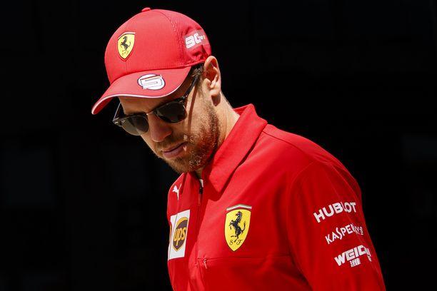 Pettymyksiä pettymyksien perään. Sellainen on ollut Sebastian Vettelin kausi 2019.