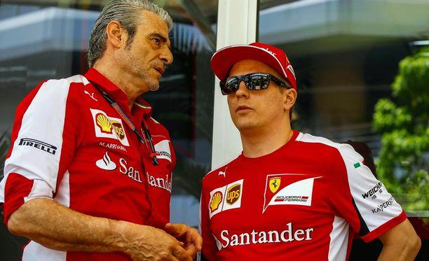 Maurizio Arrivabene on tuonut Ferrarille positiivisen ilmapiirin.