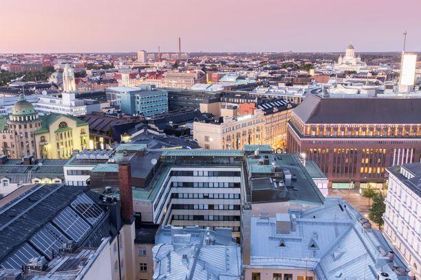 Talo sijaitsee Helsingin keskustassa Kampissa.