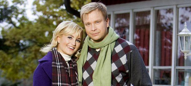 Satu Taiveaho ja Antti Kaikkonen jäivät ilman juoksevaa vettä Tuusulan Kellokosken talossaan.