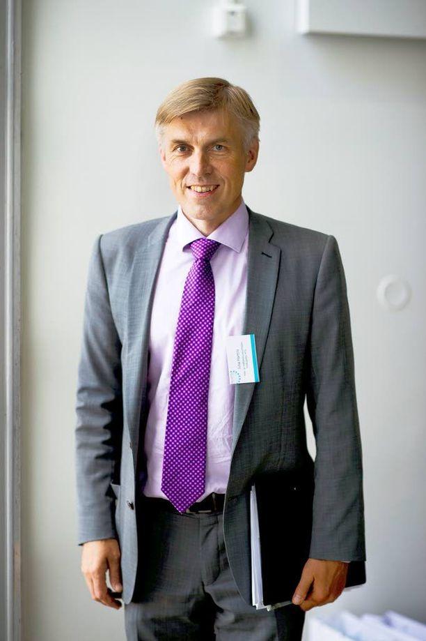 MTK:n puheenjohtaja Juha Marttila arkistokuvassa vuodelta 2013. Marttila kehottaa voimakkaasti suomalaisia päättäjiä nyt toimimaan suomalaisen ruoantuotannon puolesta.