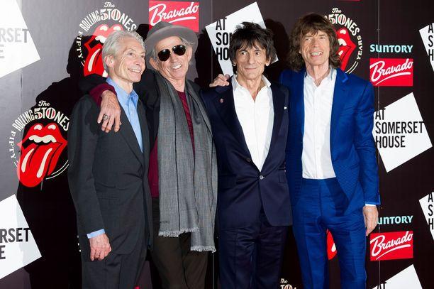 Charlie Watts, Keith Richards, Ronnie Wood ja Mick Jagger ovat julkaisseet uutta musiikkia.