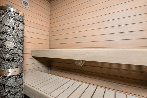 Sauna tuo arkeen hemmottelua.