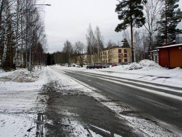 Kuva alueelta, jossa maaliskuinen henkirikos tapahtui.