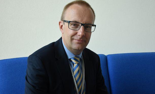 Suomen suurimman palkansaajakeskusjärjestön SAK:n puheenjohtaja Jarkko Eloranta.