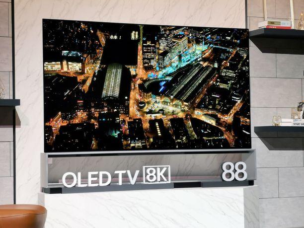 LG on liittynyt myös 8K-aikaan.