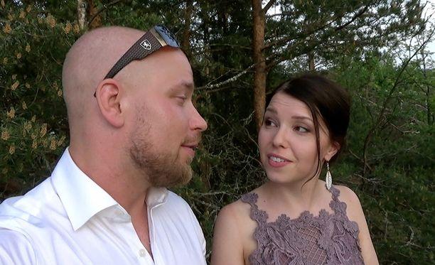 "Esa ja Aliisa ovat ""Kankkuset""."