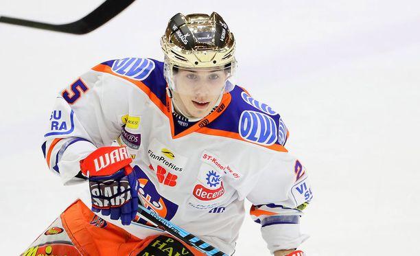 Tapparan Henrik Haapala on palannut kokoonpanoon.