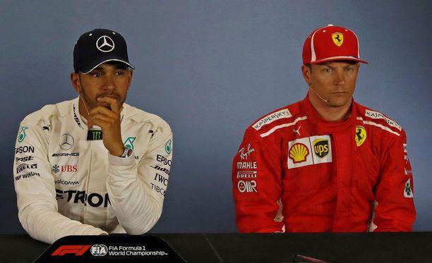 Lewis Hamilton ja Kimi Räikkönen olivat eri mieltä siitä, miten rankka sunnuntain kisasta tulee.