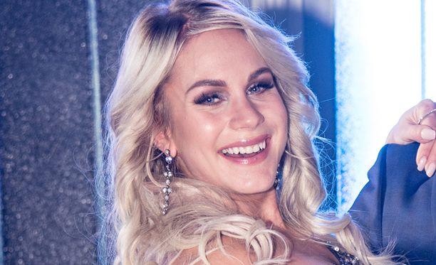 Eevi Teittinen oli mukana kevään Tanssii tähtien kanssa -ohjelmassa.