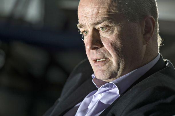 Jarmo Koskinen toimi Bluesin toimitusjohtajana sen konkurssiin päättyneellä kaudella.