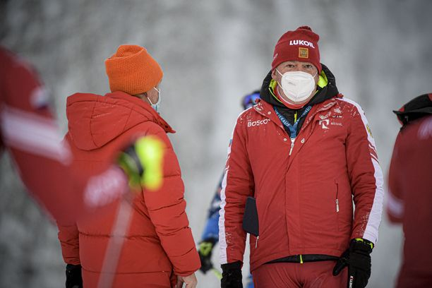 Markus Cramer on Venäjän hiihtomaajoukkueen valmentaja.