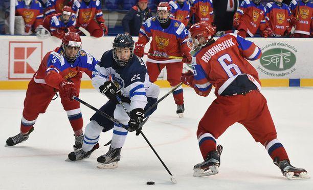 Suomi kohtasi eilen Venäjän MM-välierässä.