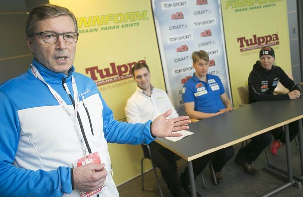 Markku Haapasalmi on yksi neljästä henkilöstä, joka etsii Hiihtoliitolle uutta operatiivista johtoa.