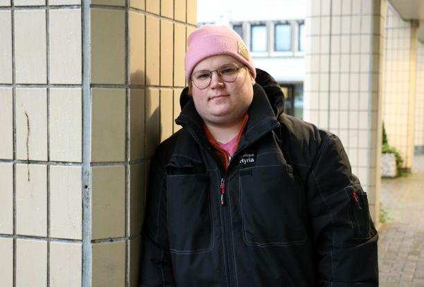 Turenkilaista Eetu Heikkaa kiusattiin koko peruskoulun ajan.