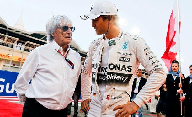 Bernie Ecclestone pitää Nico Rosbergia liian hillittynä persoonana.